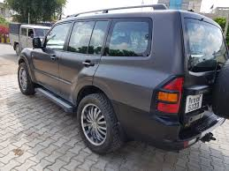 mitsubishi pajero 2005 black contact 9216724790 u2013 sd offroaders