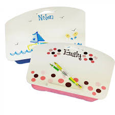 Portable Lap Desk Kids by Personalized Lap Desk Perfect Kids Travel Gift