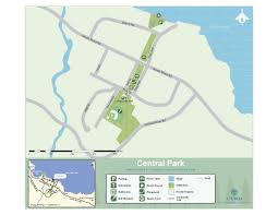 Central Park Zoo Map Central Park Cowichan Valley Regional District