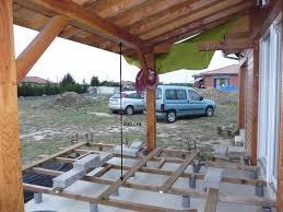 auvent en bois pour terrasse hauteur sous terrasse u003d 2 mètres suffisant 5 messages