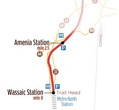 Metro North Maps by Wassaic To Amenia Station U2013 Harlem Valley Rail Trail