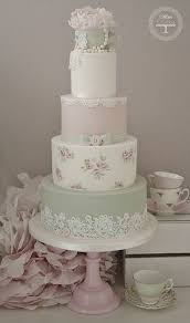 40 so pretty lace wedding cake ideas vintage teacups pastel