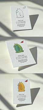 create business card free sweetly illustrated letterpress and handpainted watercolour