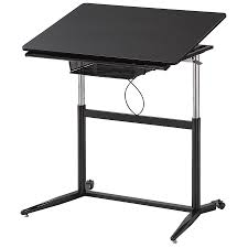 White Drafting Table Cornerstone Modern Adjustable Drafting Table Eurway