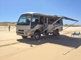 toyota motorhome bus 4x4 motorhome conversion of used coaster 4x4 motorhomes