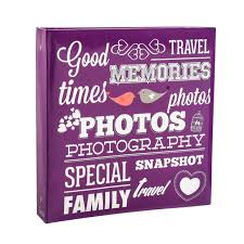 4 by 6 photo album arpan large slip in photo album holds 500 photos 6 x 4 purple ebay