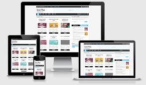 Templates V1 Blogger | grid plus responsive blogger template v1 bloggerspice smart