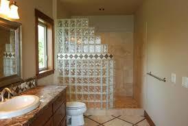 brique de verre cuisine idee decoration salle de bain briques de verre salle de bains