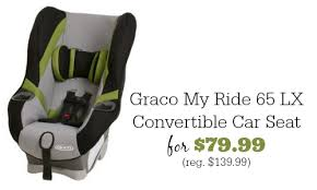 amazon black friday carseat amazon deal graco my ride 65 lx car seat 79 99 southern savers