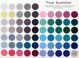 summer colors three drops of sunshine true summer cool and elegant