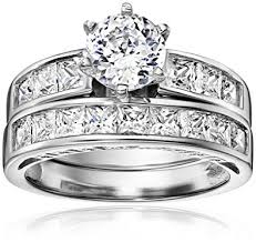 platinum solitaire rings images Platinum plated 925 sterling silver and aaa cubic jpg