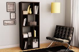 Open Shelving Unit by Amazon Com South Shore Reveal Collection Bookcase Chocolate
