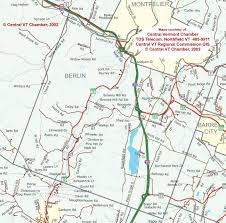 Map Vermont Map Of Berlin Vermont