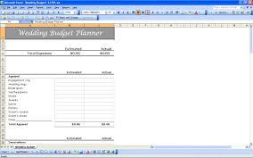 Printable Budget Spreadsheet by Wedding Budget Spreadsheet Wedding Spreadsheet Template