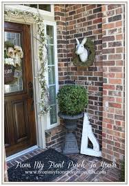 Easter Outdoor Decorations Diy by 117 Best Easter Outdoor Decor Images On Pinterest Easter Ideas