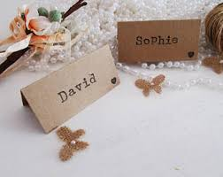 Table Setting Cards - wedding place cards etsy