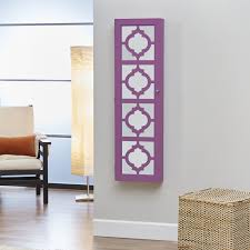 A Key To The Armoire Innerspace Designer Wall Mount Jewelry Armoire Hayneedle