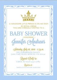 prince baby shower invitations prince baby shower invitations 7 baby shower invite