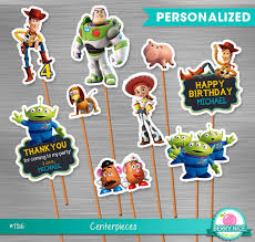 Small Centerpieces Toy Story Small Centerpieces Print Yourself Toy Story