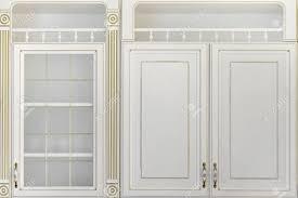 glass kitchen wall unit doors modern white luxury kitchen wall units with golden decorative