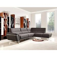 Modern White Bonded Leather Sectional Sofa Modern Leather Sofa Sectional Adcda
