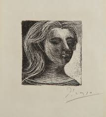 pablo picasso tête de femme head of a woman from picasso