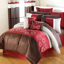 Red And Brown Bedroom Ideas Bedroom Very Cozy Comforters And Bedspreads For Modern Bedroom