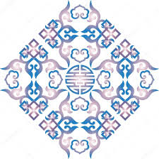 vector ornament asian traditional pattern