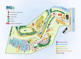 Cumberland River Map Big4 Wye River Holiday Park Vic Caravan Accommodation