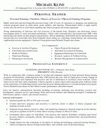 personal trainer resume objective corporate trainer resume exles