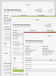 html invoice template free invoice example