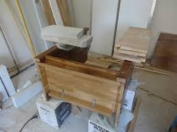 Plan Vasque Teck Création D U0027un Meuble Sous Vasque Sur Mesure Faire Soi Même