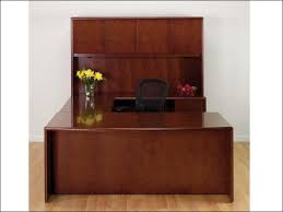 Cherry Desk With Hutch Shape Desk W Hutch Cherry Wood