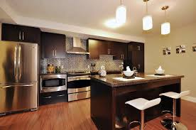 luxury modern apartment kitchen design can be decor with white