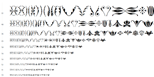 itc bodoni ornaments pi fonts