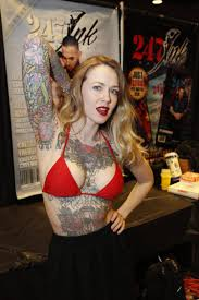 tattoo lovers artists attend show at queens casino ny daily news