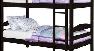 Metal Bunk Bed With Futon Futon Dark Lacquered Mahogany Loft Bed Which Equipped With Twin