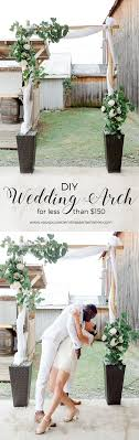 wedding arches bamboo wow a diy bamboo wedding arch for less than 150 tutorial looks
