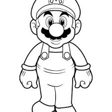 super mario brothers holding wooden hammer coloring color luna