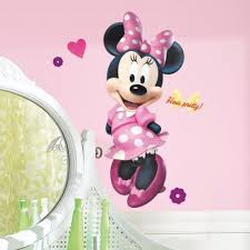 minnie s bowtique minnie mouse bow tique wall decal roommates