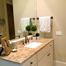 impressive top vanity pattern and white sink under tiny faucet