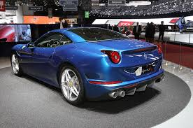 Ferrari California Dark Blue - blue ferrari california wallpaper
