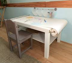Drawing Desk Kids Miss Ladyfingers Diy Arts U0026 Craft Table For Kids On A Budget