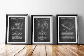 nintendo 64 patent posters group of 3 gamer poster nintendo