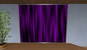 Purple And White Curtains Second Marketplace Purple White Curtains