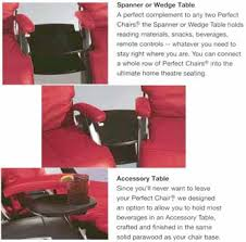 Human Touch Perfect Chair Accessories For The Perfect Zerogravity Chair By Human Touch