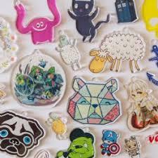 custom charms charms and pendants printed acrylic charms zap creatives