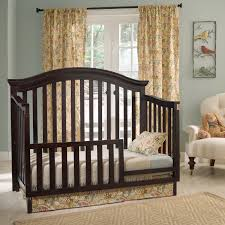 cribs that convert to toddler bed munire rhapsody toddler guard rail hayneedle