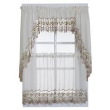 Sheer Swag Curtains Valances Buy Swag Curtain From Bed Bath U0026 Beyond