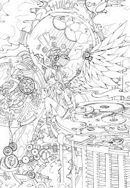 angel coloring pages for adults creativemove me